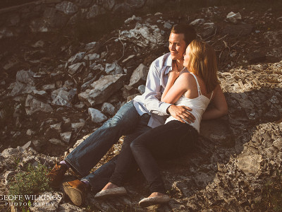 Elbow Falls Engagement Photography Shoot