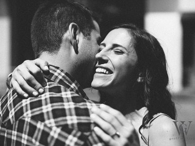 Downtown Summer Engagement Shoot : Katie + Tom