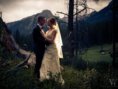 Silvertip Golf Course Wedding Photos Canmore