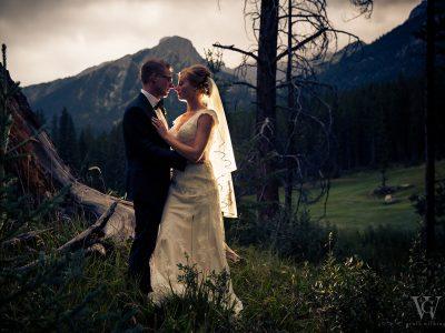 Silvertip Golf Course Wedding Photos Canmore