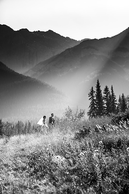 Canmore wedding photographer Geoff Wilkings