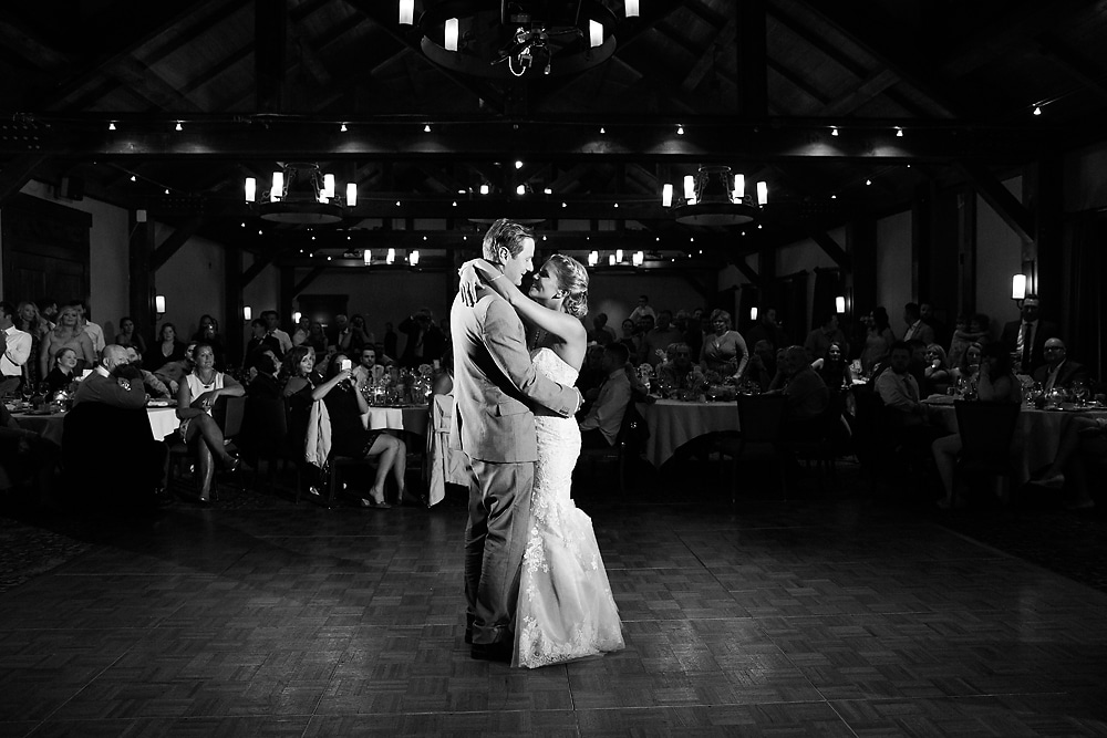 Canmore first dance Silvertip Resort