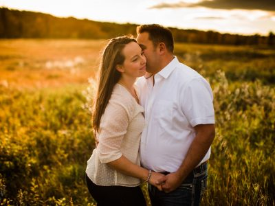 Fun + Laughter. Gorgeous Calgary Engagement Shoot