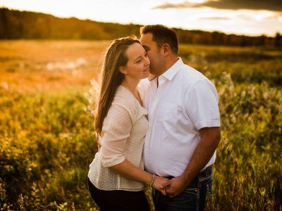 Fun + Laughter. Gorgeous Calgary Engagement Shoot