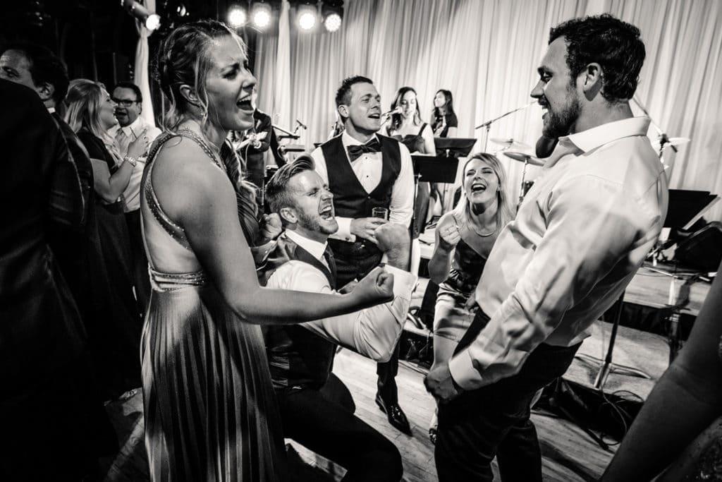 Calgary wedding reception at the Fairmont Palliser Hotel Calgary