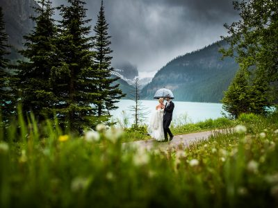 Chateau Lake Louise Wedding<BR>The Canadian Rockies