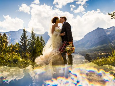 Bagpipes + Kilts = No Underwear<BR>Canmore Wedding