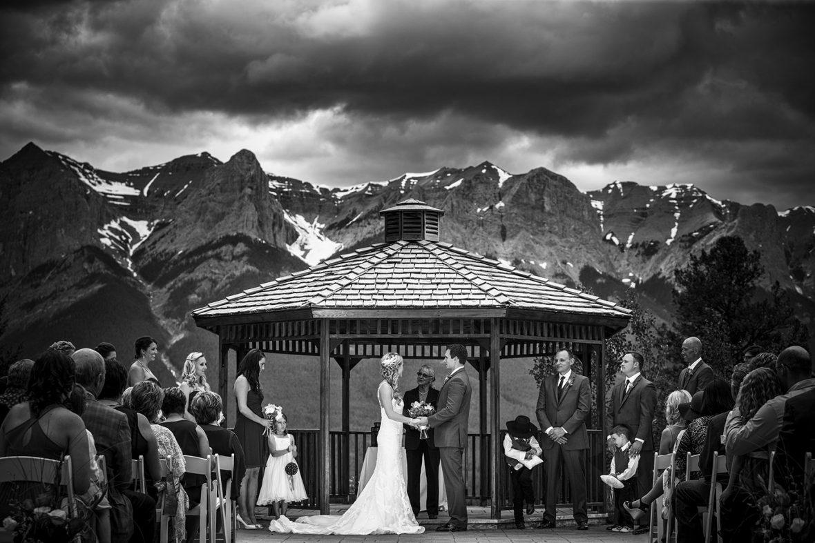 Silvertip Golf Resort Canmore wedding photographers