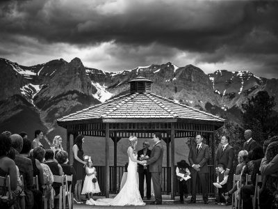 Silvertip Golf Resort Canmore wedding photographers