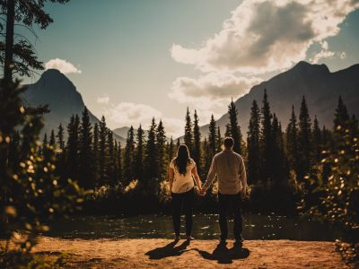 Canmore Engagement Shoot<BR>The Canadian Rockies