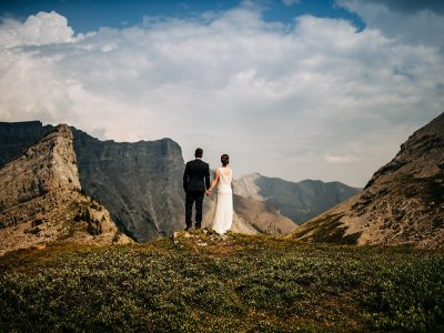 Brittany & Peter | Heli Wedding Elopement<BR>The Canadian Rockies