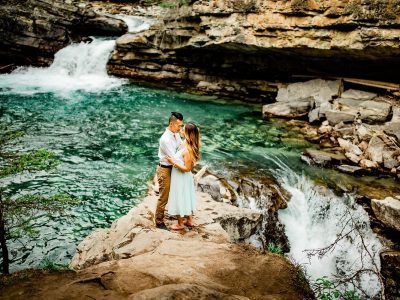 Trina & Victor | Johnston Canyon<BR>Banff National Park