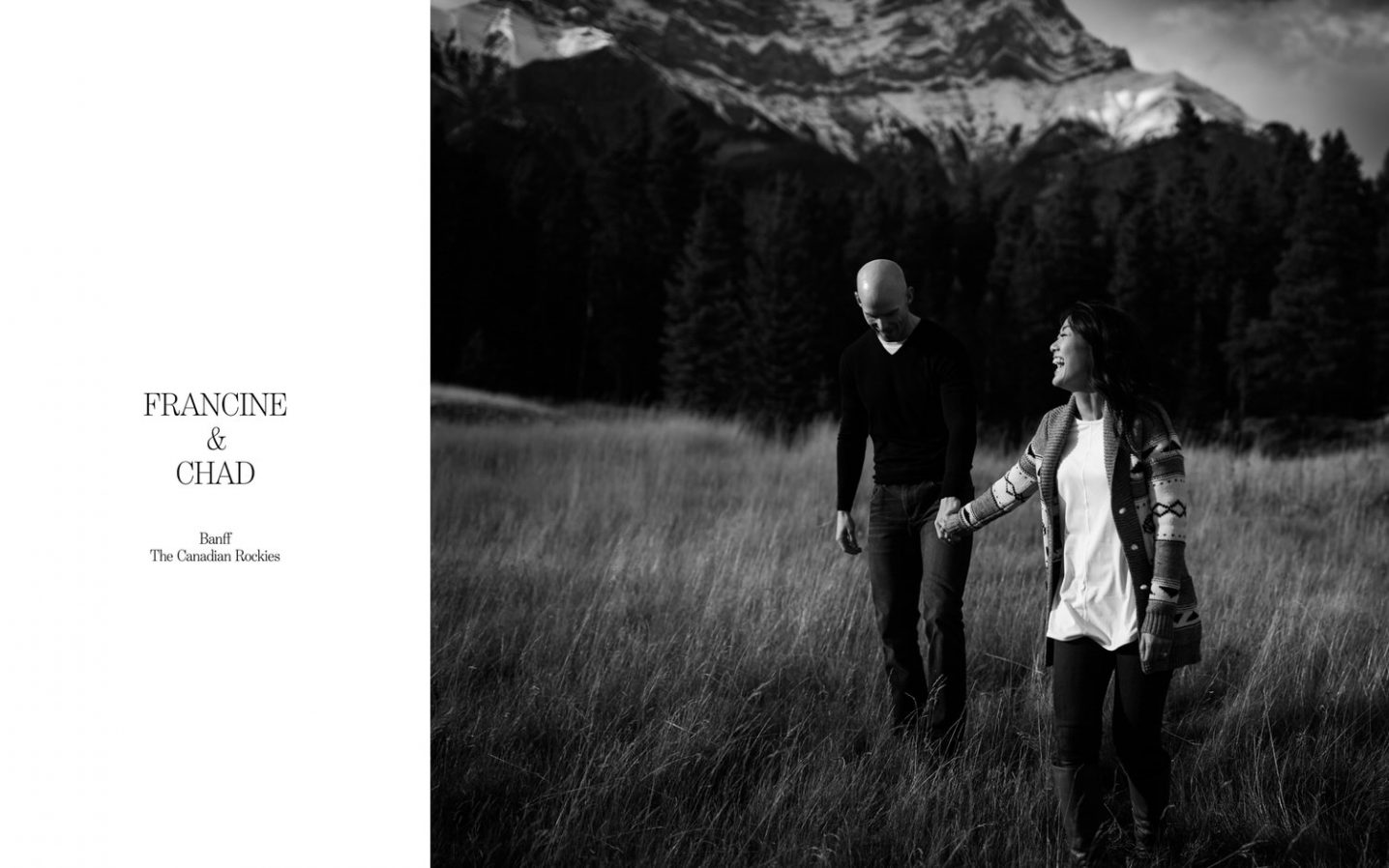 Banff engagement and wedding photographers