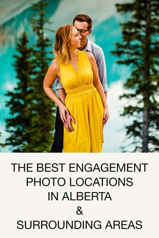 Best Engagement Photos Locations In Alberta & Surrounding Areas